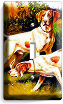 Hunting Hound Dogs Single Light Switch Wall Plate Cover Room Hunter Cabin Decor - $10.99