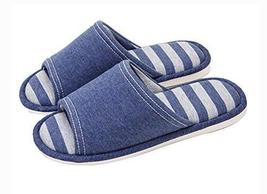 (Made By Cotton) Skidproof The Simple Style Of Home Slippers(Navy)