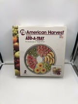 New Vintage American Harvest Nesco ADD-A-TRAY 2 Trays Model Snackmaster ... - $29.69