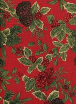 "Ralph Lauren Birchmont Red on Red Tablecloth 84"" Oblong - $44.00"