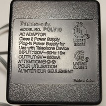 Panasonic PQLV10 AC Power Supply Adapter Charger 9V - $8.90