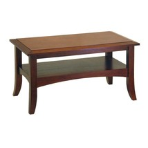 Craftsman Walnut Coffee Table - $98.45