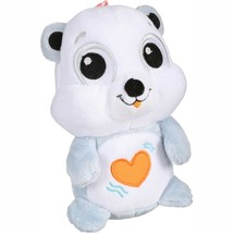 Little Tikes Good Vibes Stuffed Plush White Blue Gray Panda Bear Baby Soother - $59.39