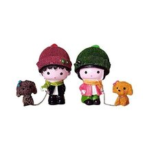 George Jimmy Creative Home Decorations Cute Cartoon Lovers Desktop Decorations C - $31.74