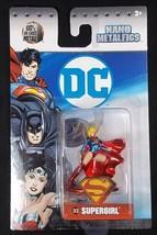 "Jada Dc Nano Metalfigs Diecast DC8 Supergirl 1.5"" New - $3.75"