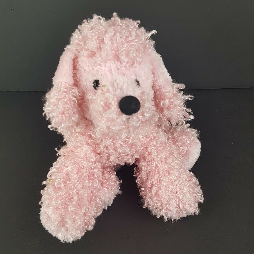 Primary image for Ganz Pink Poodle Plush Stuffed Animal HM107 No Code #A52