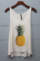 Pineapple tank top - $18.00