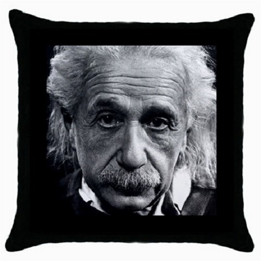Throw Pillow Case Decorative Cushion Cover Albert Einstein Gift model 36499787