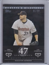 ROGER CLEMENS 2007 Topps Moments and Milestones Black #01/29 #162-47 (C4730) - $8.06