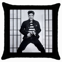 Throw Pillow Case Decorative Cushion Cover Elvis Presley Jailhouse Rock ... - $16.99