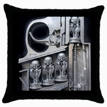 Throw Pillow Case Decorative Cushion Cover HR Giger Birth Machine Gift 3... - £13.01 GBP