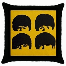 Throw Pillow Case Decorative Cushion CoverThe Beatles Gift model 37982798 - $16.99