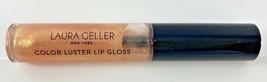 Laura Geller Color Luster Lip Gloss Gilded Honey Full Sz 6.5mL Free Shipping - $9.89