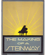 The Making of a Steinway (1939 Letterpress, Illustrated by Winold Reiss) - $300.00