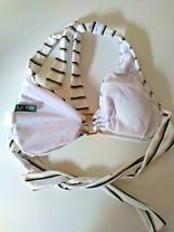 Ralph Lauren White Swim Wear Bra Size 6 image 2