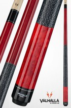 Red VA114 Valhalla Viking Two-piece Billiard Pool Cue Stick Lifetime Warranty - $71.49+