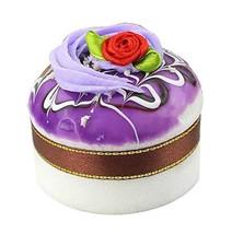 Set of 2 Artificial Cake Lifelike Cake Model Photography Props, Purple - $13.46