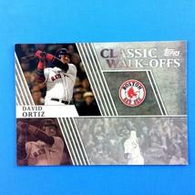 David Ortiz 2012 Topps Classic Walk-Offs Insert #CW-14 MLB Boston Red Sox - $1.93