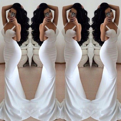 white prom dress,backless Prom Dress,prom dress,sexy prom dress,evening dresses
