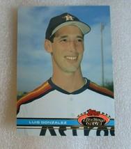 1991 Topps Stadium Club Baseball #576 Luis Gonzalez Rookie Card! RC Ex-N... - $1.55