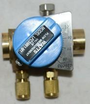Watts Bronze Balancing Valve 1/2 Inch LFCSM 61 M1 S Ball Design image 1