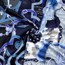 NIB Hermes Scarf PLUMETS DU ROY 90cm Silk Foulard Carre JULIA ABADIE - $429.95