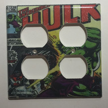 Hulk Comic Book Light Switch Duplex Outlet Wall Cover Plate & more Home decor image 5