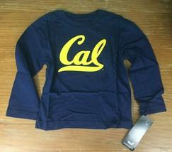 NEW NCAA California Golden Bears Boys Long Sleeve Tee - Size 4 (S) - Blue, NWT - $9.97
