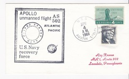 APOLLO AS 502 US NAVY RECOVERY FORCE USS AUSTIN APRIL 4, 1968 ATLANTIC/P... - $1.98