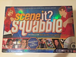 SEALED NEW, Scene It? Squabble DVD Game Matches Men Against Women Board Game - $23.00