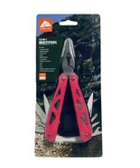 Ozark Trail 12-in-1 MultiTool with Sheath Pink, Pliers, Wire Cutter, Kni... - $8.54