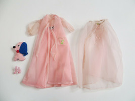 Vintage Barbie Doll Nighty Negligee Set Outfit #0965 Complete Fashion Do... - $34.65