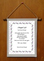 Changed Life - Personalized Wall Hanging (175-2) - $19.99