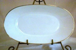"Rosenthal 1977 Classic Platinum Relish Tray 9 5/8"" - $13.16"