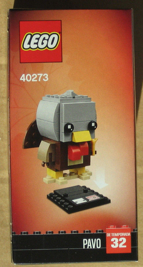 LEGO Brickheadz 40273 Thanksgiving Turkey No.32 ~NEW ~