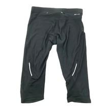 Nike da Corsa Capri Leggings Mesh Dettaglio Corto Pantaloni Vita Bassa Infilare - $27.70