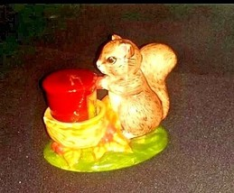 Squirrel Figurine with Candle AB 659 Vintage