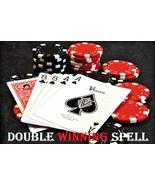 """DOUBLE LUCK MONEY SPELL """"WINNING STREAK """" BLACK VOODOO MAGICK AMAZING $$ FOR YOU - $16.87"""