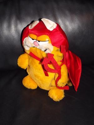 Vintage 1981 Garfield In Halloween Devil Costume
