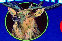 Mighty Elk! Valley King Crate Label, 1930's  - $3.95