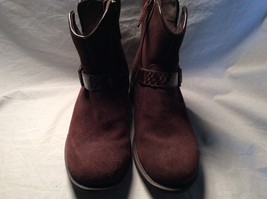 UGG Australia Brown Suede Snake Strap Ankle Boots Size US 7  - $69.29