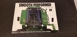 1990 John Deere Smooth Performer 44.5 Hydro Row Crop & Small Grain Brochure - $9.62