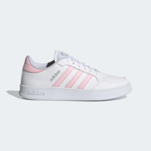 Adidas Damen Breaknet Tennis-Inspired Schuhe Weiß - $119.35