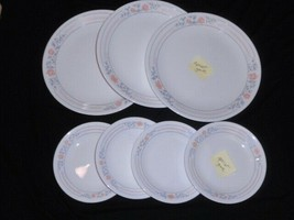 7 Corelle Apricot Grove Plates Lot Of 7 - $19.79