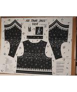'All That Jazz'  Ladies Vest Kit - Panel - $5.00