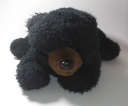 "17"" Vintage Ty 1992 Baby Black Shadow Teddy Bear Floppy Stuffed Animal Plush Toy - $27.12"