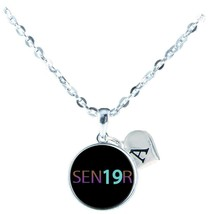 Custom Senior 2019 Silver Necklace Jewelry Graduation Class of Choose Initial - $16.14