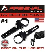 "2x 1.75"" Bull Bar/Roll Cage Tube Mount Clamps For UTV Polaris RZR LED Li... - $15.99"