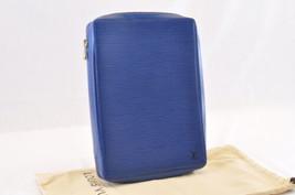 Louis Vuitton Epi Agenda Voyage Day Planner Cover Blue R20035 Lv Auth 7039 - $820.00
