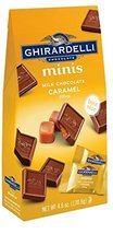 Ghirardelli Minis Pouch, Milk Chocolate Caramel Filling, 4.6 oz (Pack Of 6) - $59.49